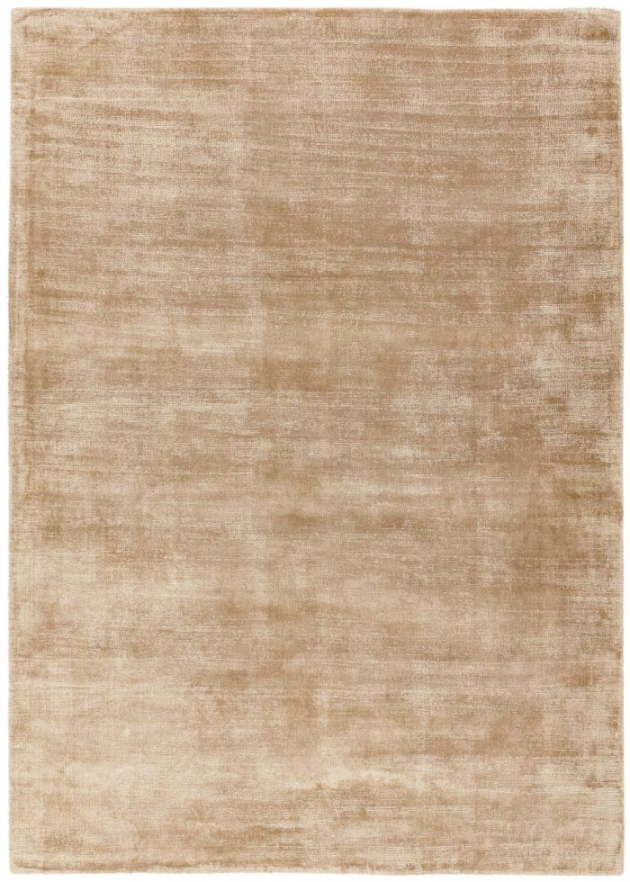 Blade Rug by Asiatic Carpets in Champagne Colour; hand sheared by artisans to create a distressed lustrous look