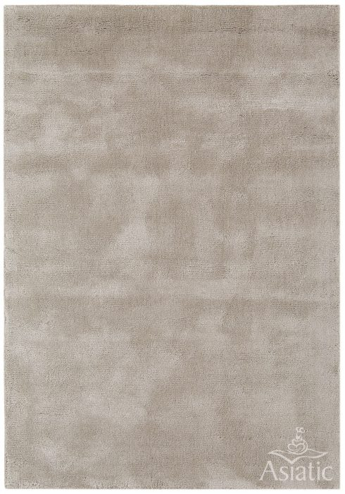Aran Rug by Asiatic Carpets in Mocha Colour; luxuriously thick rug made with fine wool with viscose for a grand finish