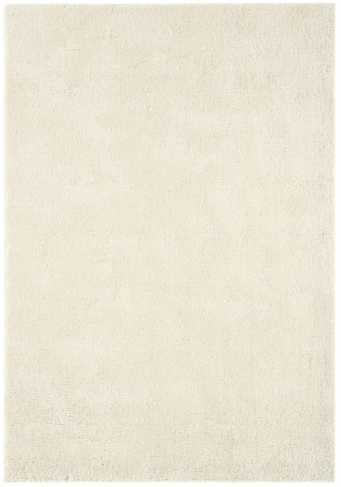 Aran Rug by Asiatic Carpets in Ivory Colour; luxuriously thick rug made with fine wool with viscose for a grand finish