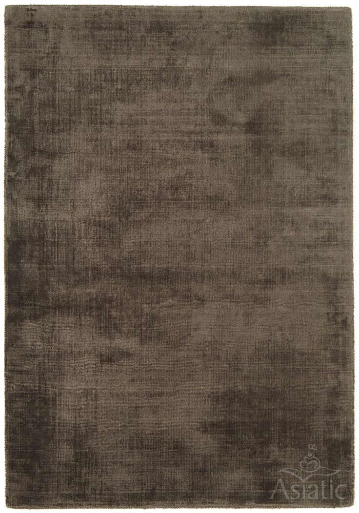 Blade Rug by Asiatic Carpets in Chocolate Colour; hand sheared by artisans to create a distressed lustrous look