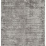 Blade Rug by Asiatic Carpets in Silver Colour; hand sheared by artisans to create a distressed lustrous look