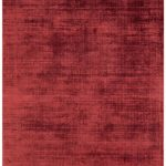 Blade Rug by Asiatic Carpets in Berry Colour; hand sheared by artisans to create a distressed lustrous look