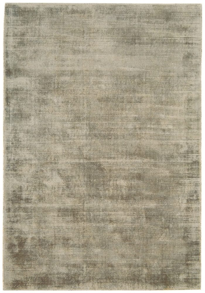 Blade Rug by Asiatic Carpets in Smoke Colour; hand sheared by artisans to create a distressed lustrous look