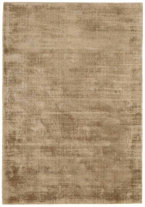 Blade Rug by Asiatic Carpets in Soft Gold Colour; hand sheared by artisans to create a distressed lustrous look