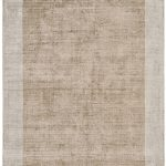 Blade Border Rug by Asiatic Carpets in Champagne/Putty Colour; a definitive stylish rug with a complimentary tonal border