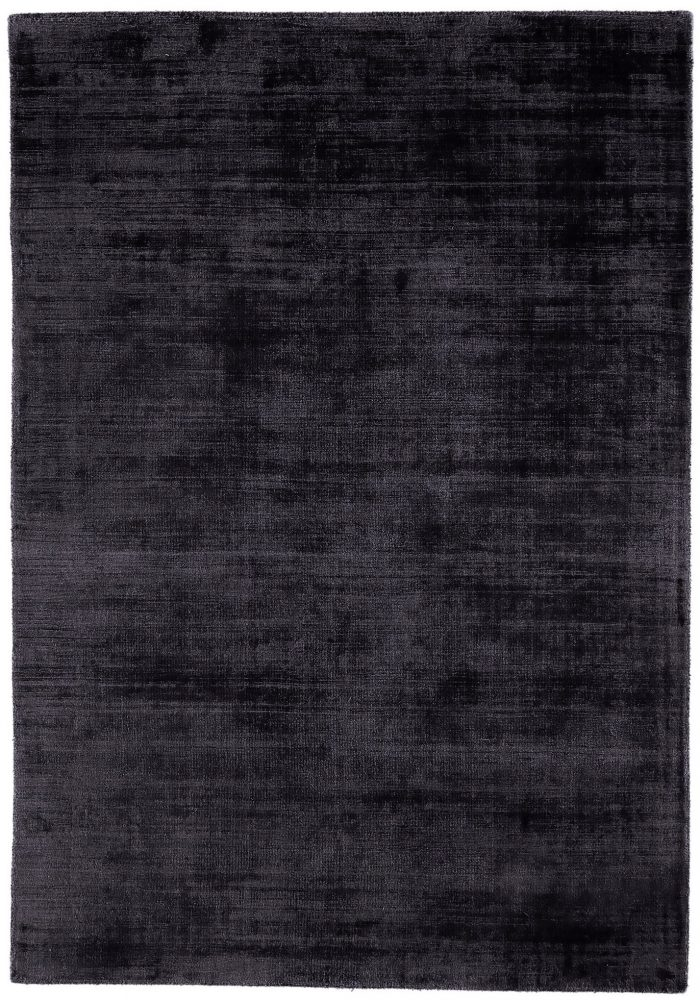Blade Rug by Asiatic Carpets in Navy Colour; hand sheared by artisans to create a distressed lustrous look