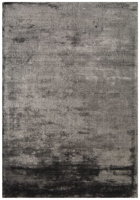 Dolce Rug by Asiatic Carpets in Graphite Colour; hand-woven and hand-washed for radiance and softness for an organic feel