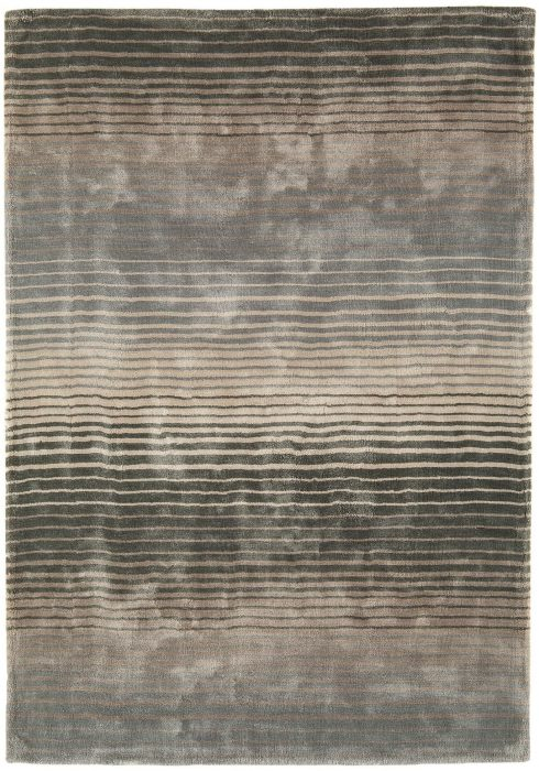 Holborn Rug by Asiatic Carpets in Midas Colour has stylish horizontal stripes in lustrous colour combinations