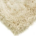 Cascade Rug by Asiatic Carpets in Cream Colour has a relaxed style, the soft microfibre, and the shiny fine yarns