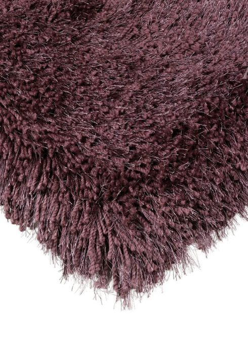 Cascade Rug by Asiatic Carpets in Violet Colour has a relaxed style, the soft microfibre, and the shiny fine yarns