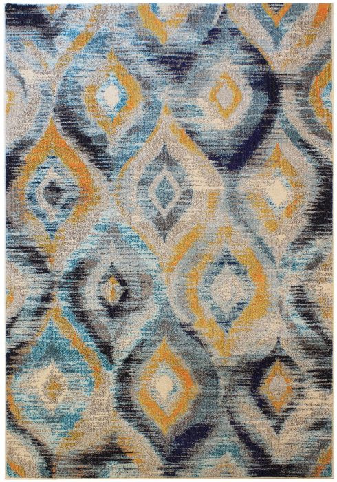 Colores Rug by Asiatic Carpets in COL09 Design; a fun rug in multi-coloured design which is practical and durable