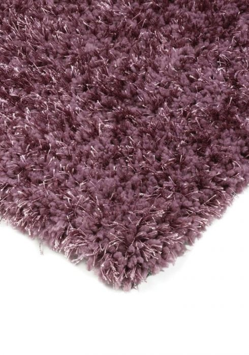 Diva Rug by Asiatic Carpets in Heather Colour; a soft touch polyester rug with a fine sparkle yarn