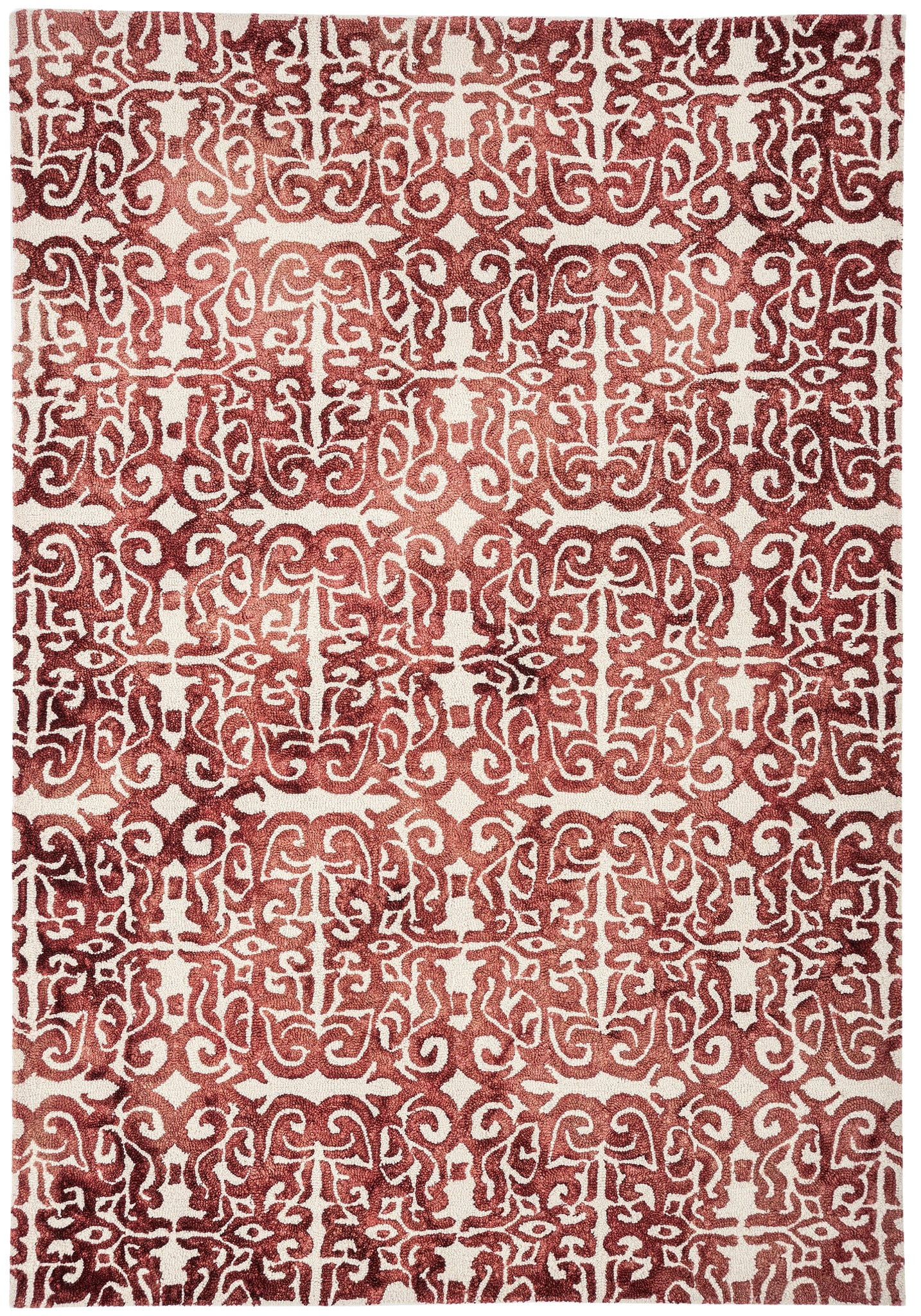Fresco Rug By Asiatic Carpets Colour Red Rugs Uk