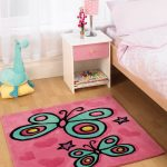 Kiddy Butterfly Pink LS Rug