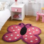Kiddy Play Butterfly Pink LS Rug