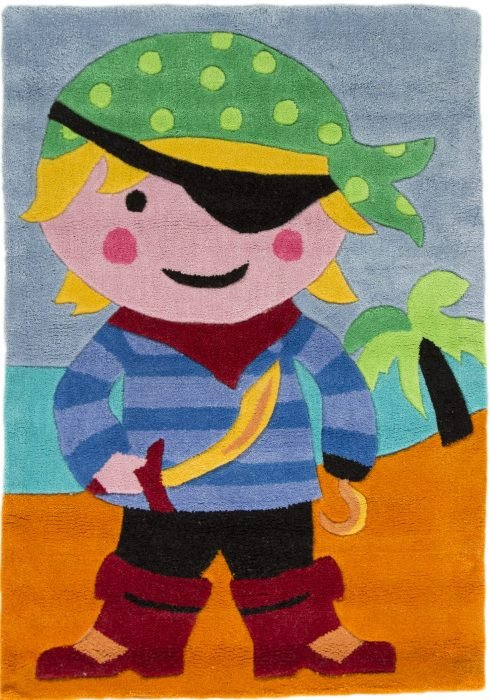 Kiddy Play Pirate WCO Rug