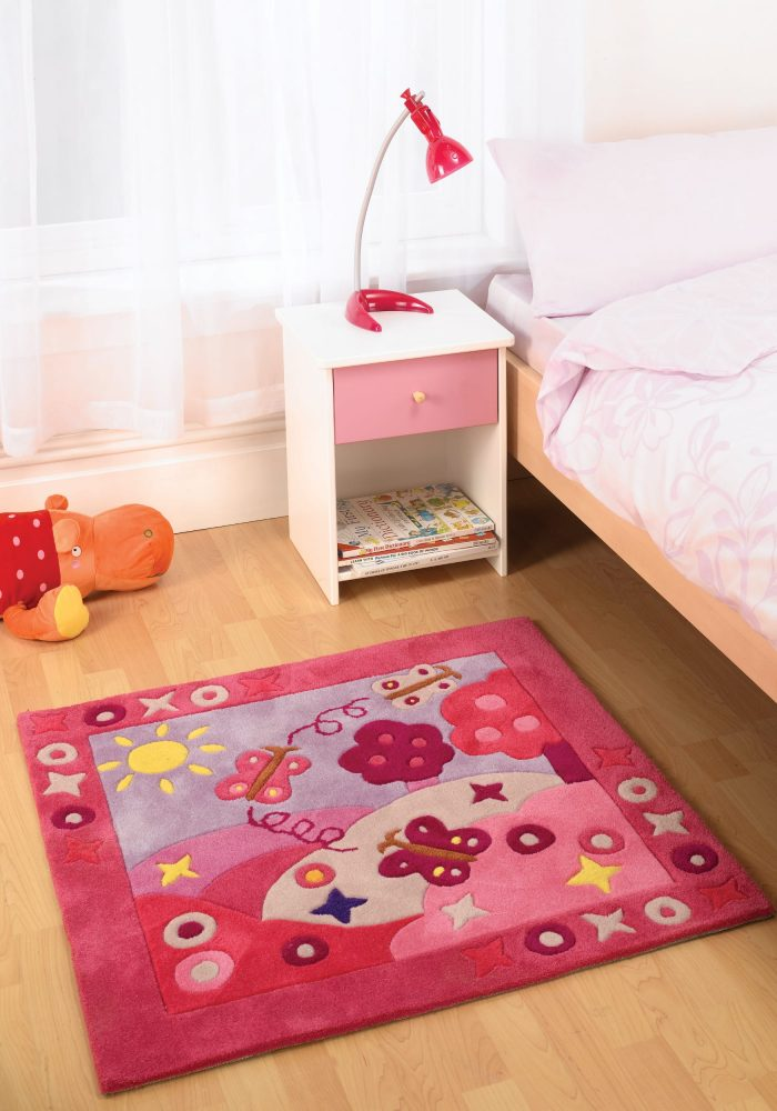 Kiddy Play Summertime Girl LS Rug