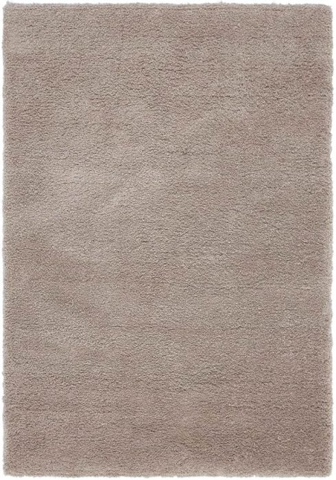 Lulu Rug by Asiatic Carpets in Stone Colour is sensually soft as Lulu features a luxuriously dense microfiber polyester pile
