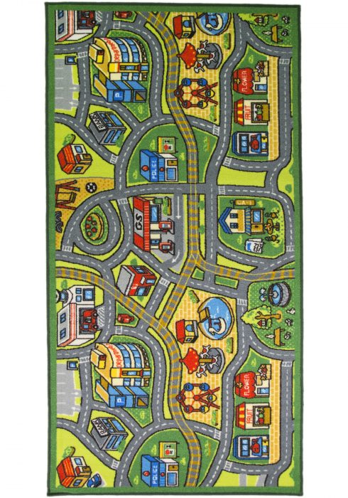 Matrix Kiddy Happy Town WCO Rug