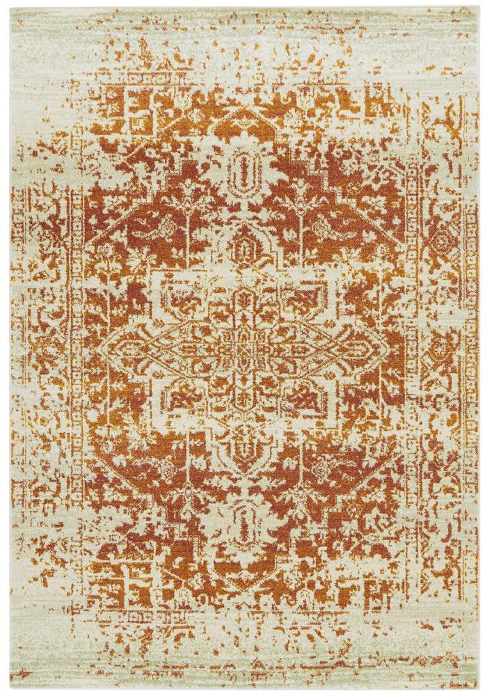 Nova Rug By Asiatic Carpets Design Nv09 Antique Orange