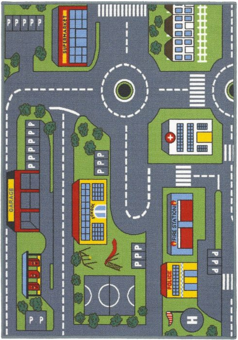 Playtime Road Map Rug