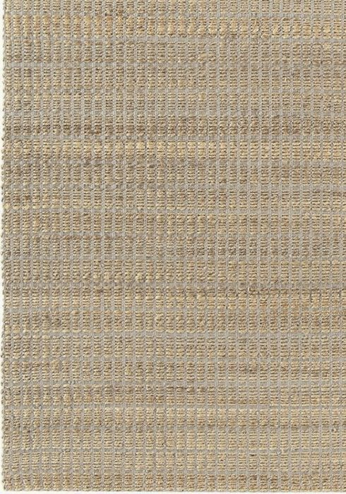 Ranger Rug by Asiatic Carpets in Silver Colour; a durable flat weave rug with jute detailing on a cotton backing