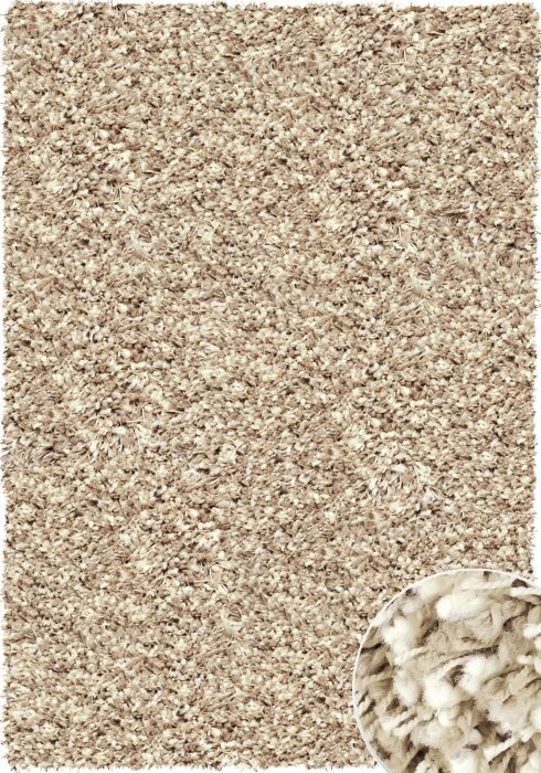Twilight Rug by Mastercraft Rugs in 39001-2868 Beige/White Design has superbly finished woven shaggy with thick luxurious pile