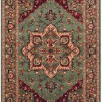 Kashqai Rug by Mastercraft Rugs in 4354 401 Design; made with environmentally friendly T5 100% worsted yarn wool