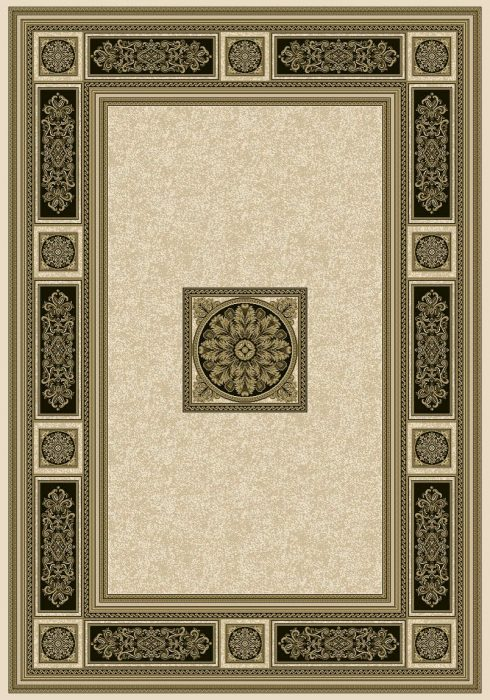 Da Vinci Rug by Mastercraft Rugs in 057 0801 6223 Design; a high-end quality rug which is made with ultrafine yarn
