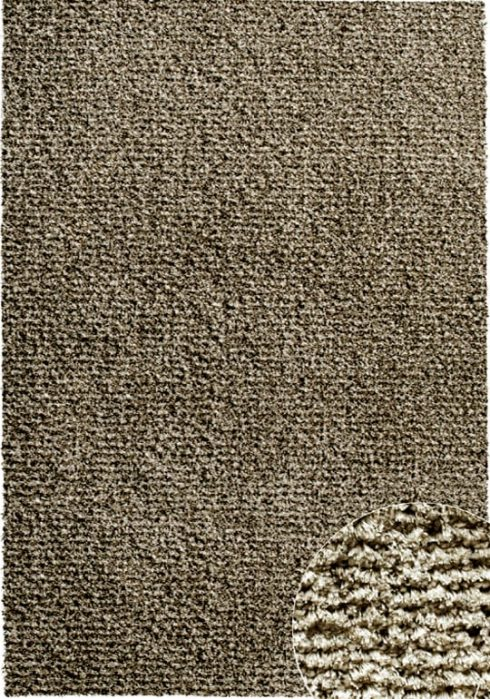 Spectrum Rug by Mastercraft Rugs in 0001/7878 Taupe Design has superbly finished woven shaggy with a shiny luxurious pile