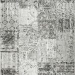 Amalfi Rug by Mastercraft Rugs in 094 0010 3001 Grey Design; made up of 40% viscose, 38% cotton chenille, and 22% polyester
