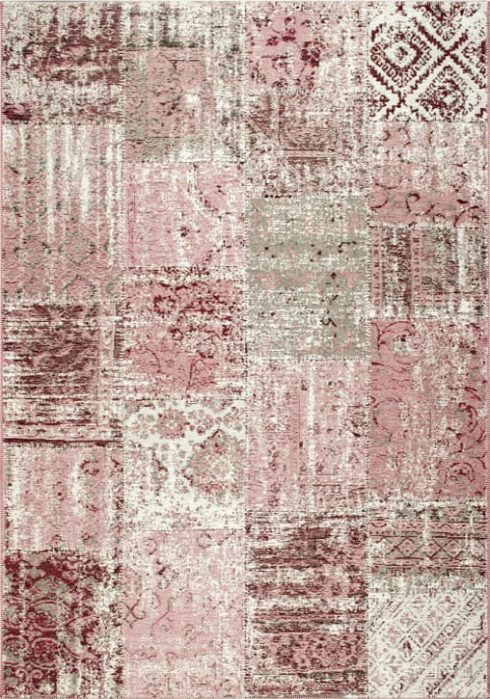 Amalfi Rug by Mastercraft Rugs in 094 0010 8001 Sunset Design; made up of 40% viscose, 38% cotton chenille, and 22% polyester