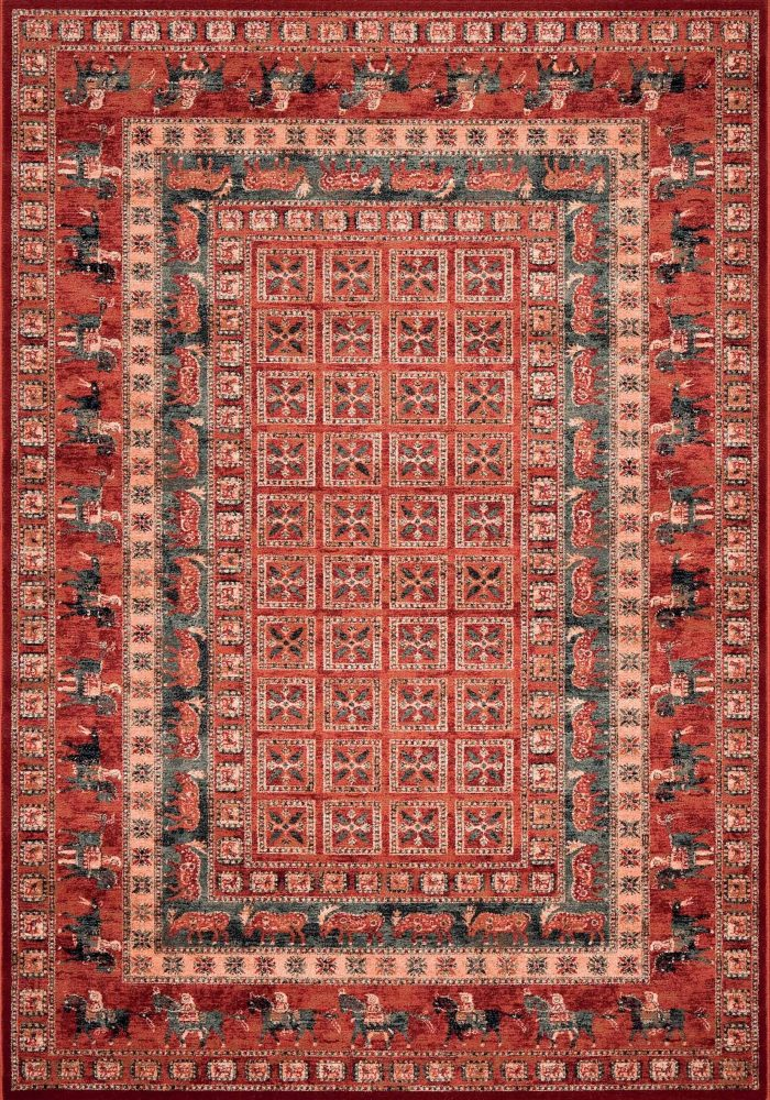 Kashqai Rug by Mastercraft Rugs in 4301 300 Design; made with environmentally friendly T5 100% worsted yarn wool