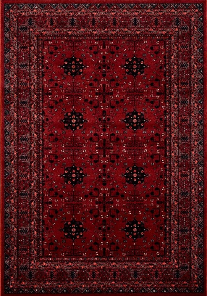 Kashqai Rug by Mastercraft Rugs in 4302 300 Design; made with environmentally friendly T5 100% worsted yarn wool