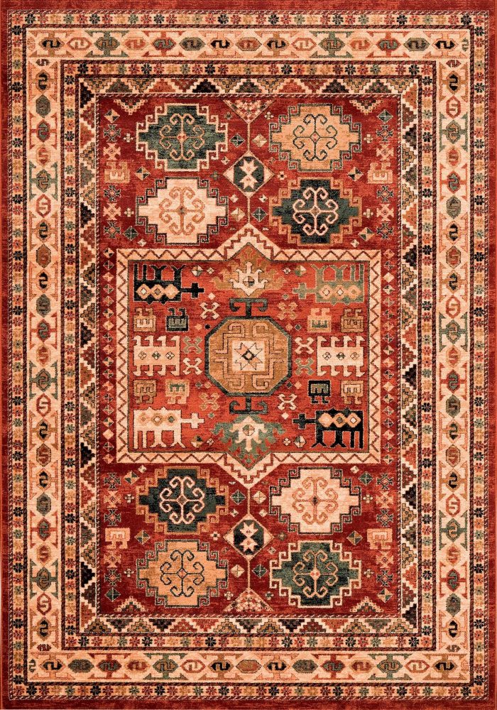 Kashqai Rug by Mastercraft Rugs in 4306 300 Design; made with environmentally friendly T5 100% worsted yarn wool