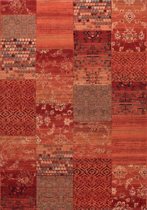 Kashqai Rug by Mastercraft Rugs in 4327 300 Design; made with environmentally friendly T5 100% worsted yarn wool