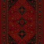 Kashqai Rug by Mastercraft Rugs in 4345 300 Design; made with environmentally friendly T5 100% worsted yarn wool