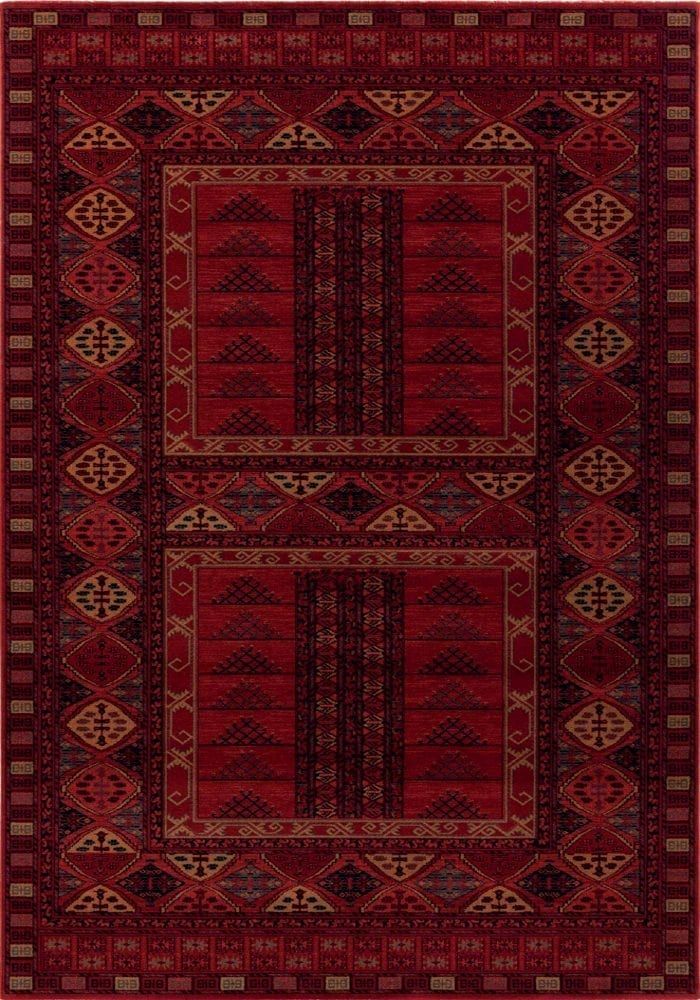 Kashqai Rug by Mastercraft Rugs in 4346 300 Design; made with environmentally friendly T5 100% worsted yarn wool