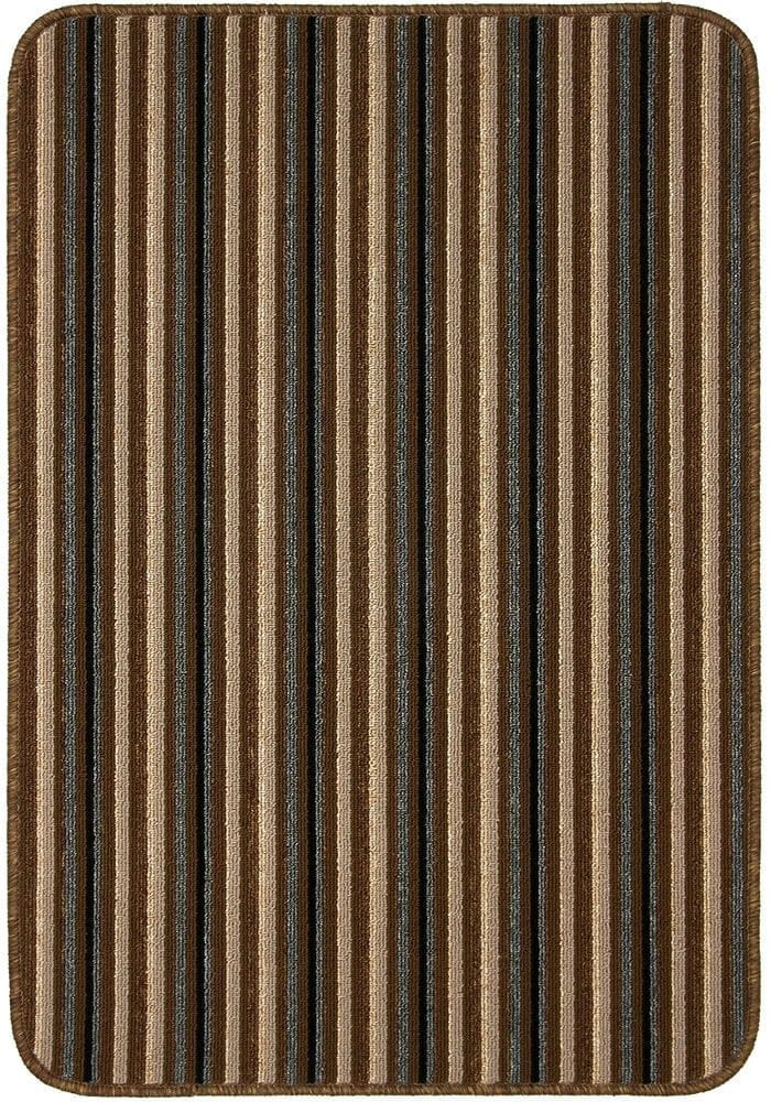 IOS Door Mats & Runners in Chocolate Colour with a practical anti-slip gel backing and are machine-washable at 30°C