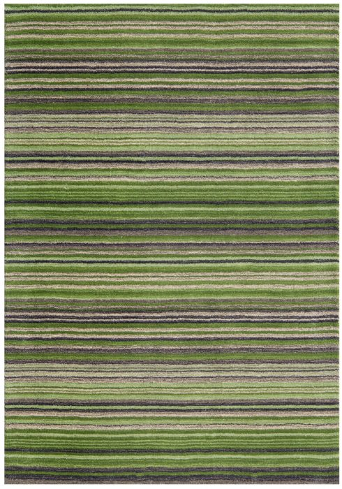 Carter Green Rug Overhead