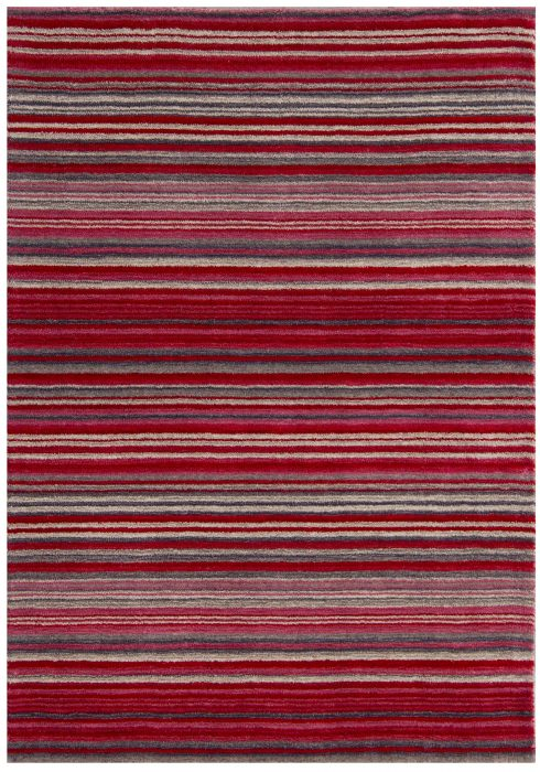 Carter Red Rug Overhead