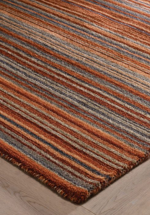 Carter Rust Rug Detail (1)