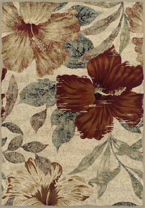 Florenza Rug by Oriental Weavers in 165J Design; a machine-woven rug with a heat-set yarn to create a dense heavy pile