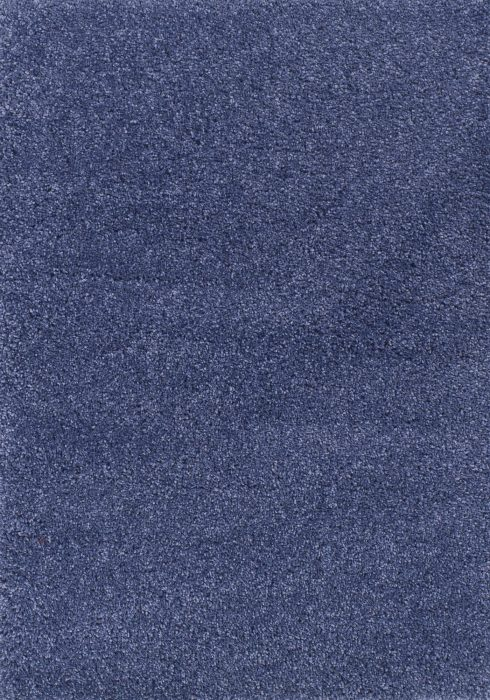 Harmony Rug by Oriental Weavers in Denim Blue Colour; a heavy-weight shaggy made out of 100% heat-set polypropylene