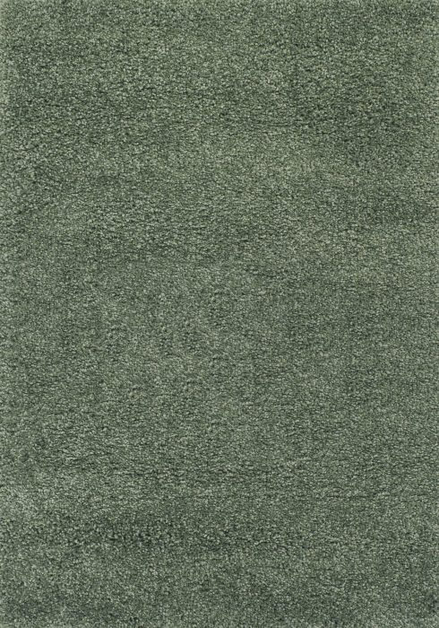 Harmony Rug by Oriental Weavers in Sage Green Colour; a heavy-weight shaggy made out of 100% heat-set polypropylene