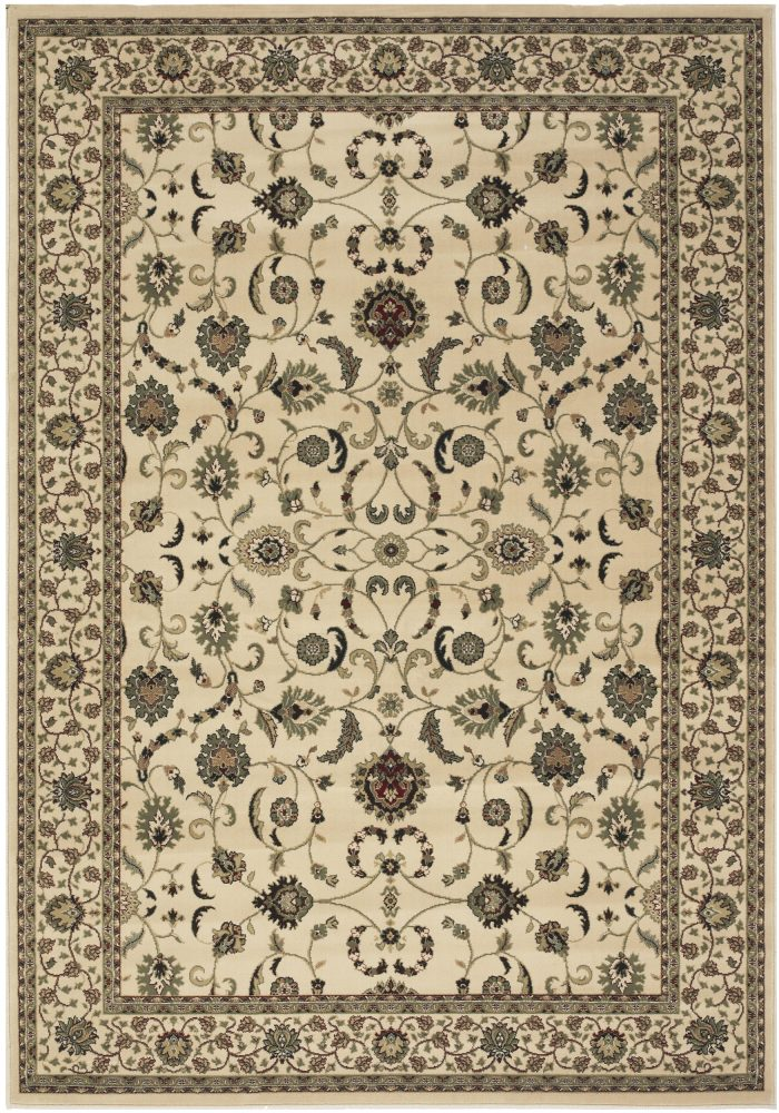 Kendra Rug by Oriental Weavers in 137W Design has a dense luxurious pile which is soft to touch; the excellent centrepiece!