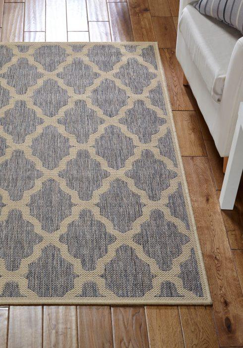 Moda Trellis Grey Rug Roomshot - Copy
