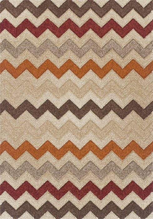 Portland Rug by Oriental Weavers in 2030X Design; machine woven with a hardwearing frisee pile