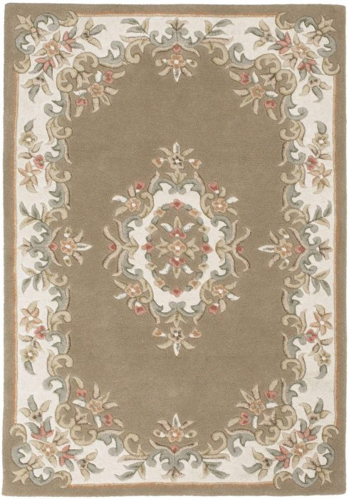 Royal Rug by Oriental Weavers in Beige Colour; hand-tufted in India using 100% wool