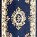 Royal Rug by Oriental Weavers in Blue Colour; hand-tufted in India using 100% wool; guaranteed to make an impact in the home